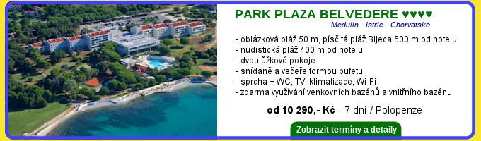 Park Plaza Belvedere Chorvatsko