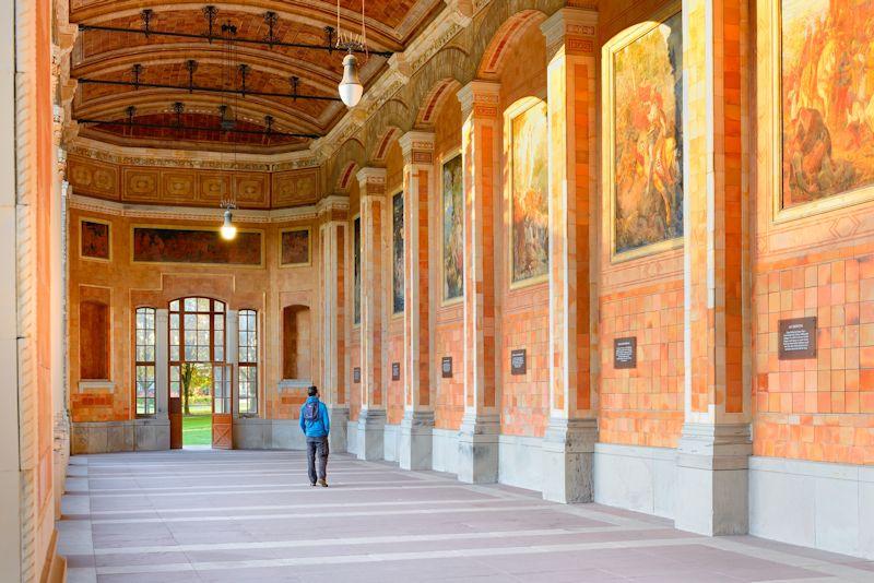 Baden-Baden, budova Trinkhalle (c) Francesco Carovillano_DZT